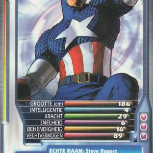 Top Trumps – Captain America
