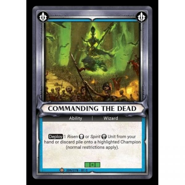 Commanding the Dead (Unclaimed)