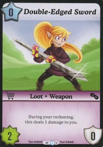 Double-Edged Sword – Uncommon