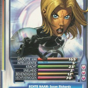 Top Trumps – Invisible Woman