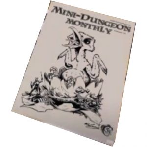 Mini-Dungeon Monthly – Issue 1