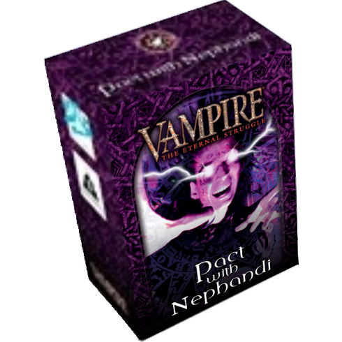 Vampire the Eternal Struggle – Pact with Nephandi – Tremere Preconstructed Deck