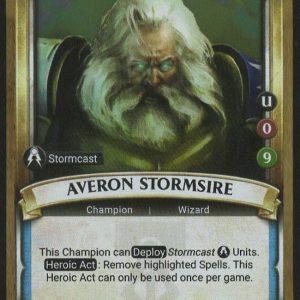 Averon Stormsire (Unclaimed) Foil