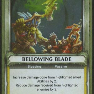 Bellowing Blade (Unclaimed) – FOIL