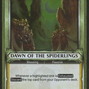 Dawn of the Spiderlings (Unclaimed) – FOIL