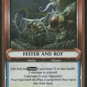 Fester and Rot (Unclaimed) – FOIL