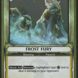 Frost Fury (Unclaimed) – FOIL