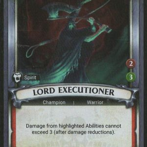 Lord Executioner (Unclaimed) – FOIL