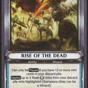 Rise of the Dead (Unclaimed)