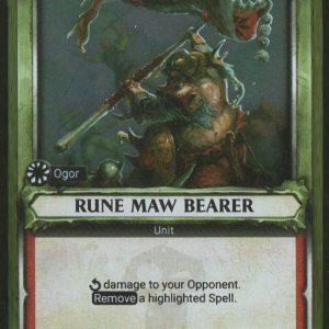 Rune Maw Bearer (Unclaimed) – Foil