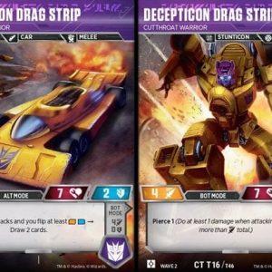 Decepticon Drag Strip – Cutthroath Warrior