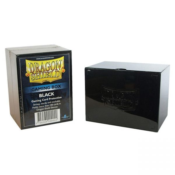 Deckbox – Dragon Shield – Black