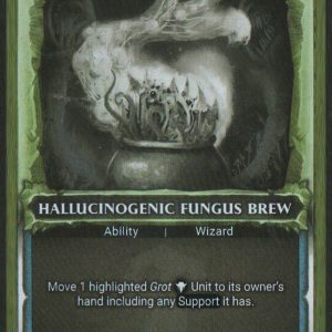 Hallucinogenic Fungus Brew – Alternate Art FOIL