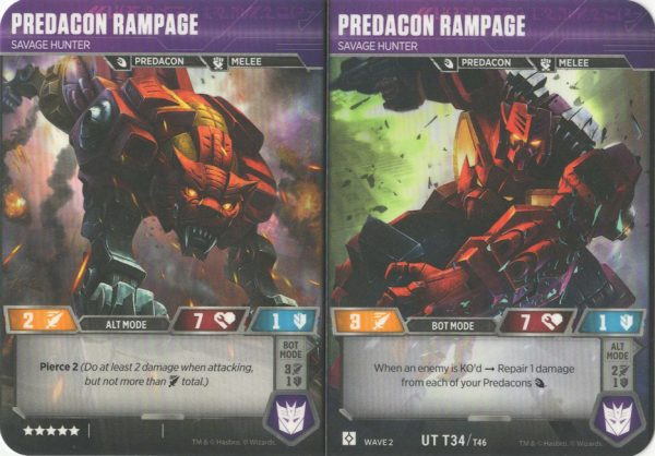 Predacon Rampage – Savage Hunter