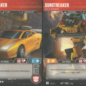 Sunstreaker – Bold Warrior