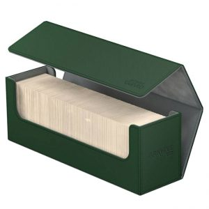 Ultimate Guard Arkhive 400+ Standard Size XenoSkin™ Green