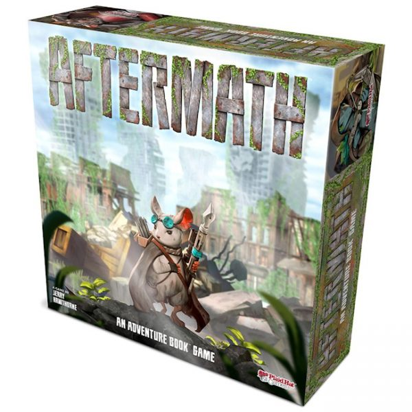 Aftermath - Adventure Book Game by Plaid Hat Games