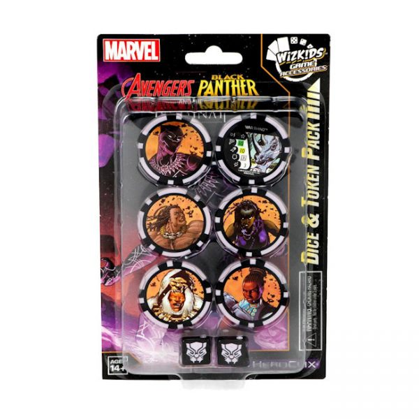 Black Panther Heroclix - Dice and Tokens