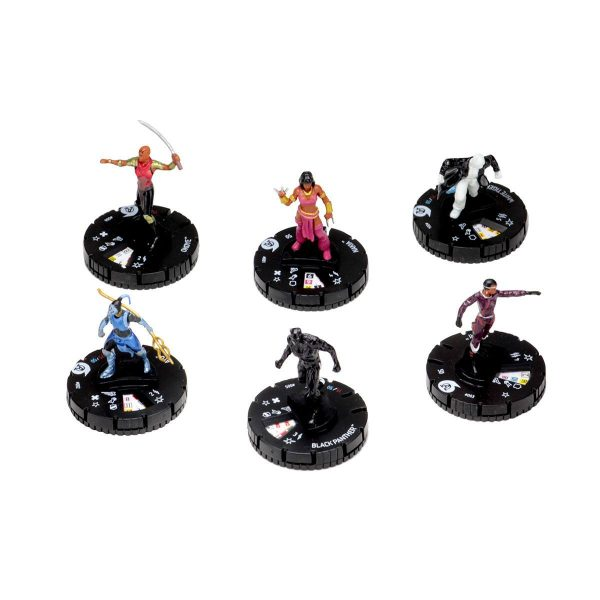 Black Panther Heroclix - Fast Forces - Figures