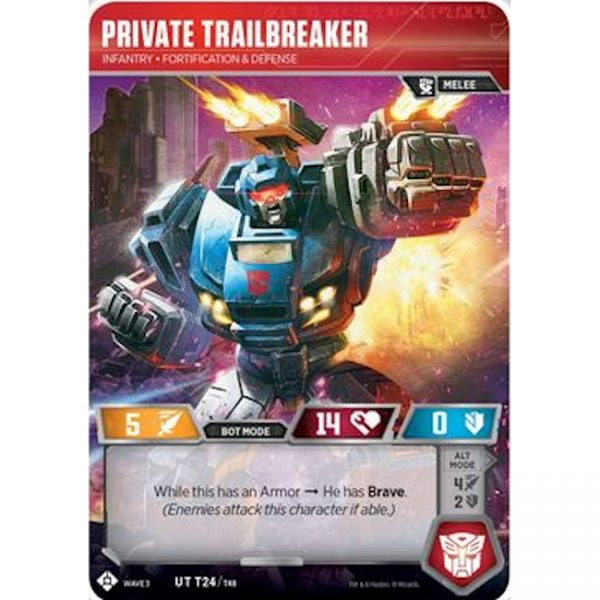 Private Trailbreaker – Infantry Fortification & Defense