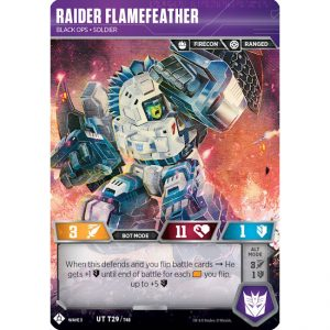 Raider Flamefeather – Black ops Soldier