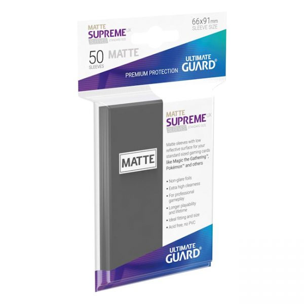 Card Sleeves by Ultimate Guard - Matte Supreme