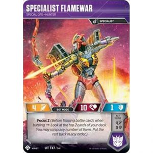 Specialist Flamewar – Special Ops Hunter