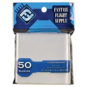 FFG – Card Sleeves: Square – 70x70mm
