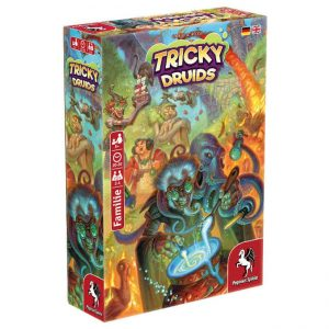 Tricky Druids board game by Pegasus Spiele