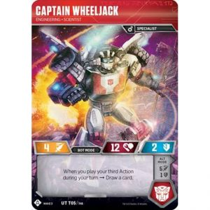 Captain Wheeljack – Engineering Scientist