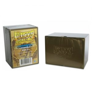 Deckbox – Dragon Shield – Gold