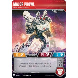 Major Prowl – Infantry Strategist
