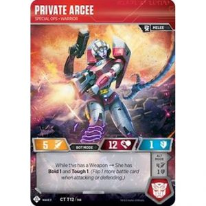 Private Arcee – Special Ops Warrior