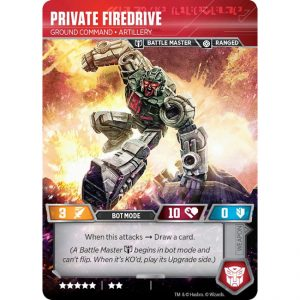 Private Firedrive – Ground Command Artillery