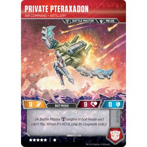 Private Pteraxadon – Air Command Artillery