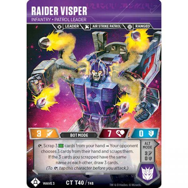 Raider Visper – Infantry Patrol Leader