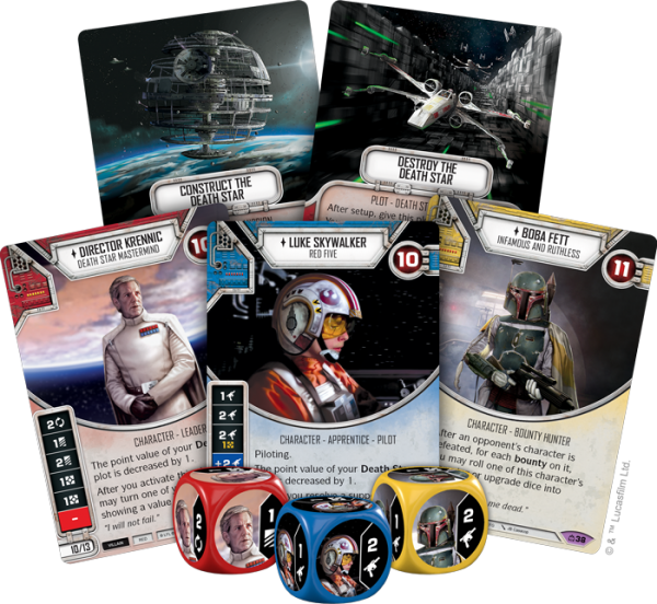 Star Wars Destiny – Covert Missions – Booster Display