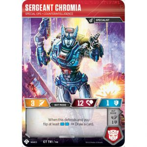 Sergeant Chromia – Special Ops Counterintelligence
