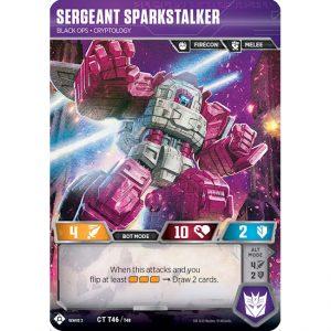 Sergeant Sparkstalker – Black Ops Cryptology