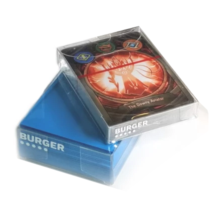 Burger Tokens – Perfect Fit Deckboxes for Sleeved Keyforge Decks