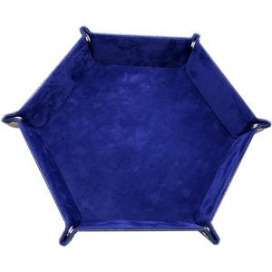 Dice Tray – Blue Velvet