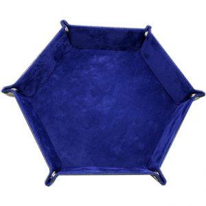 Dice Tray – Blue Velvet
