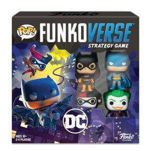 DC Comics – Funkoverse Strategy Game – 4 Character Base Set