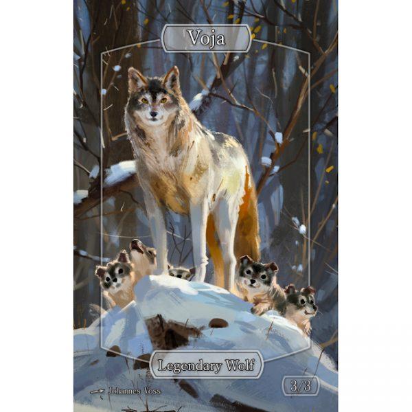 Johannes Voss – Sparkly – Wolf/Legendary Wolf Voja