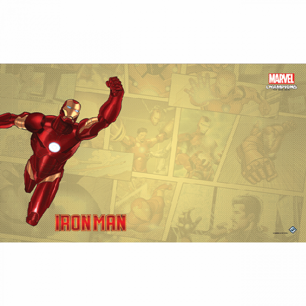 Marvel Champions Iron Man Playmat
