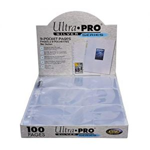 Ultra-Pro Silver Series 9 Pocket Pages
