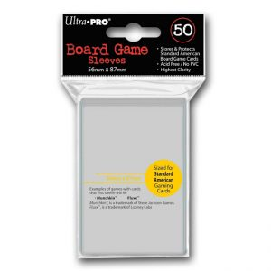 Ultra-Pro Board Game Sleeves – 56mm x 87mm – Standard USA Size