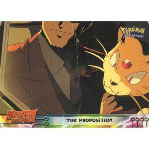Topps Pokémon Series 1 – #5 The Proposition