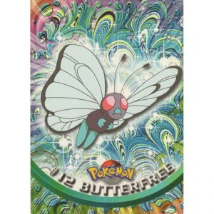 Topps Pokémon Series 1 – #12 Butterfree