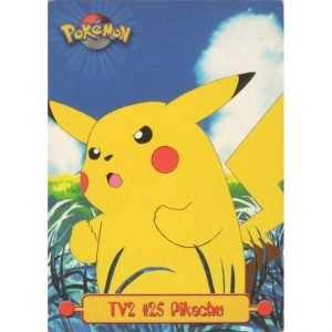 Topps Pokémon Series 1 – #25 Pikachu